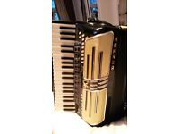 HOHNER ATLANTIC IV in BLACK
