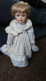No Name: The Leonardo Collection Procelian Doll