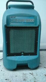 INDUSTRIAL DEHUMIDIFIER DRIEAZ (DRIAIR 1200) 240 VOLTS good working condition 4800 hours phone me