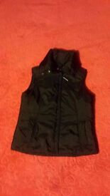 Women's Black ESPRIT vest/body warmer (Size - S) *IN EXCELLENT CONDITION
