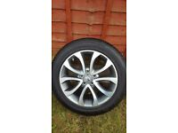 Nissan Juke Alloy Wheels and Tyres