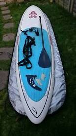 Starboard Blend SUP BOARD and equipment