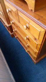Pine 3+2 Chest of Drawers