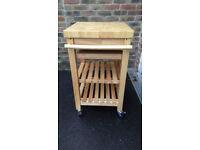 Wooden kitchen unit