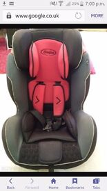 Dimples Snug Supreme Group 123 car seat. Suitable From 9kg to 36kg .