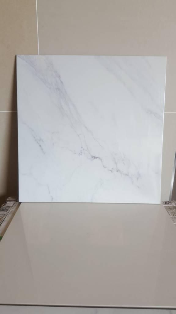 Marble effect 60x60 porcelain tiles £12.99 sqm!