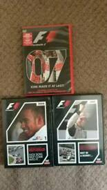 F1 Season Review DVDs