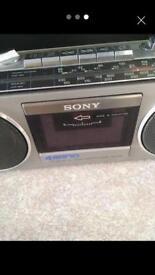 Sony retro radio