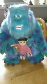 Monsters inc talking Sulley.