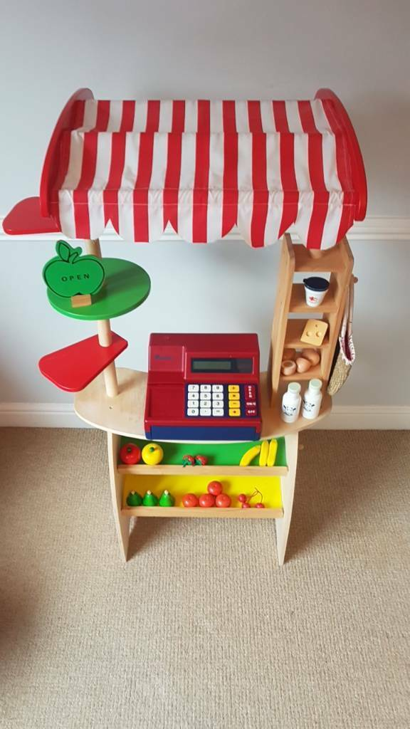 Kids Grocers Stall and Cash Register