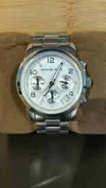 Women's Genuine Silver Michael Kors Watch
