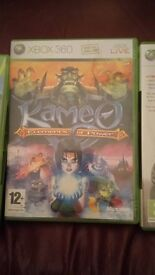 Kameo and forza motor sport 3 xbox 360 good barely played condition