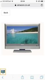 "Toshiba 20"" LCD TV with built in Freeview, Remote"