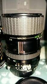 Tamron vivitar manual lenses