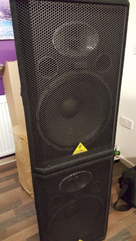 15'' passive Behringer speakers for sale