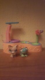 Littlest Petshop Leapin' Frog set