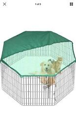 Animal cage with cover