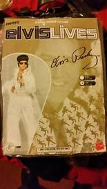 Smiffys Elvis Jewel Jumpsuit Costume and wig. Used. Dawlish. Devon