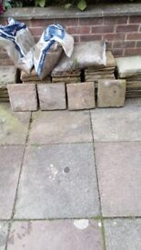 300 X 300 Yorkshire Stone Paving Slabs (New)