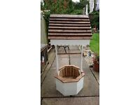 handmade 4.5ft wishing well, can deliver for fuel cost