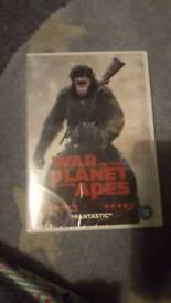 Brand new sealed war for the planet of the apes dvd