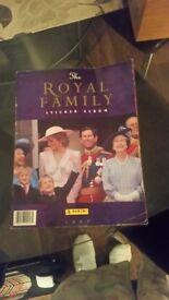 Royal family sticker album complete 1991