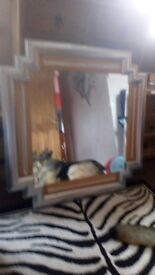 Retro style mirror
