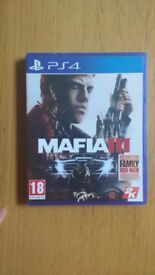 BRAND NEW PS4 Mafia III