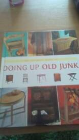book for sale,doing up old junk