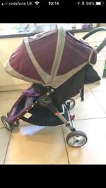 Baby jogger city mini aubergine