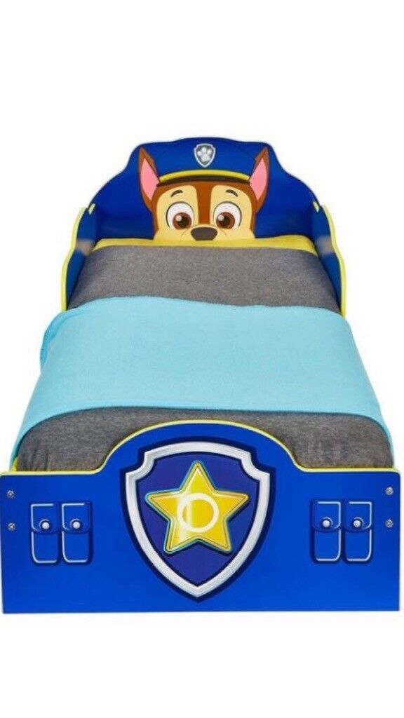 Brand New Paw Patrol Toddler Bed (Boxed) self assembly required - no mattress