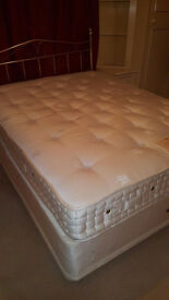 harrison double bed including mattress & headbaord can deliver