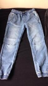 2 x boys jeans - 8-9 years - Gap and George. Like new, never been worn.