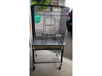 Cockatiel cage for sale, barely used, excellent condition