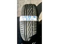 205-55-15 Millennium 88V 7mm Part Worn Tyre