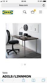 Ikea Adils/Linnmon Office Table (2No)
