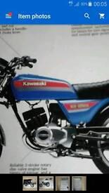 Kawasaki kh125
