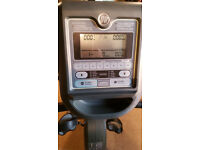 Horizon Comfort 408 Recumbent Cycle Gym Fitness Good Condition