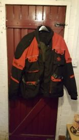 "A Men's ""BUFFALO"" Textile Motorcycle Jacket"