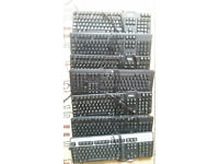 Keyboards various brands (Dell, HP, Microsoft etc.)