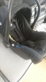 Joie pram and attachable car seat