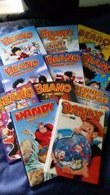 BEANO AND DANDY BOOKS