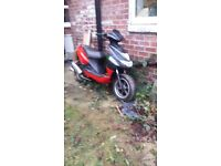Cpi 50cc scooter spares or repairs needs a battery and fresh juice