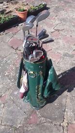 Second hand mixed golf set