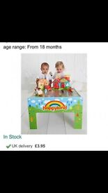 ELC HAPPYLAND TABLE excellent condition