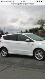"""Ford Kuga 19"""" Alloy wheels with tyres"""
