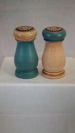 Denby Luxor Salt and Pepper Pots + Milk Jug New