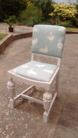 Two lovely chairs - Great for kitchen, dining, hall or even the bedroom!