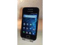 Samsung Galaxy Ace - Virgin - OK Condition + Charger
