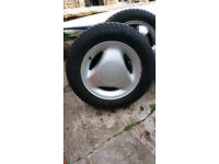 Saab 900/9000 Alloy Wheel & Tyre - fits all Classic 900 and 9000 models